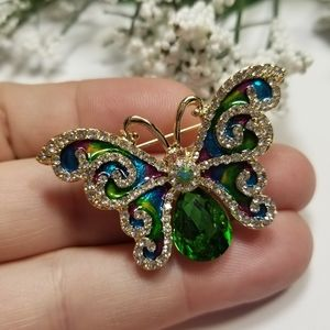 ❤WOW❤Butterfly Brooch